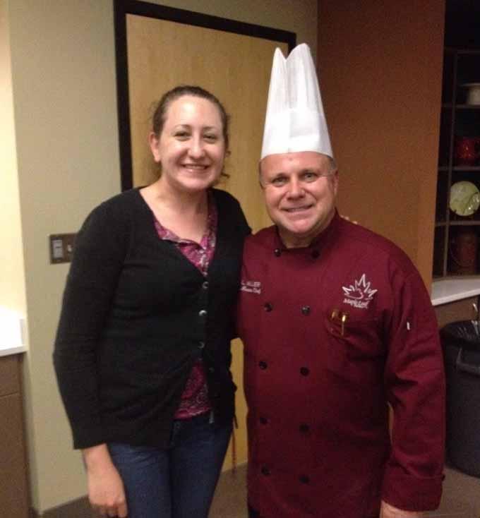 #BloggerDuckU JennyB and Chef Dale Miller
