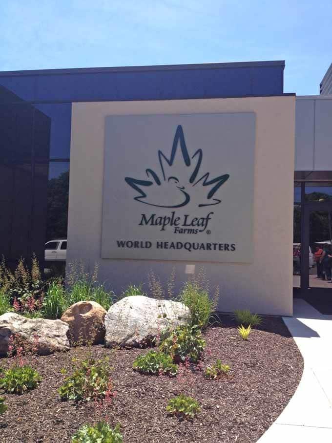 #BloggerDuckU Maple Leaf Farms World Headquaters