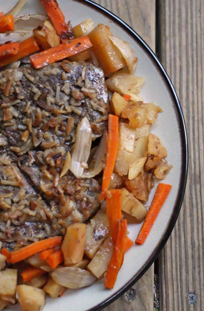Slow Cooker Pot Roast | Honey and Birch