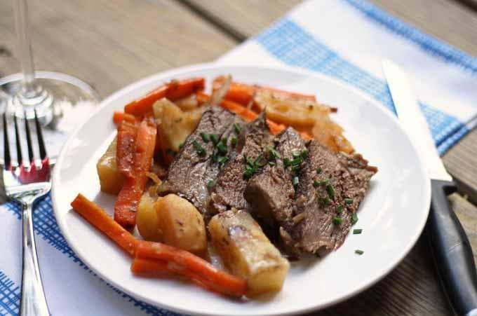 Slow Cooker Pot Roast | Honey and Birch