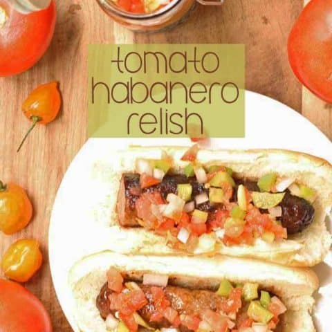 Tomato Habanero Relish