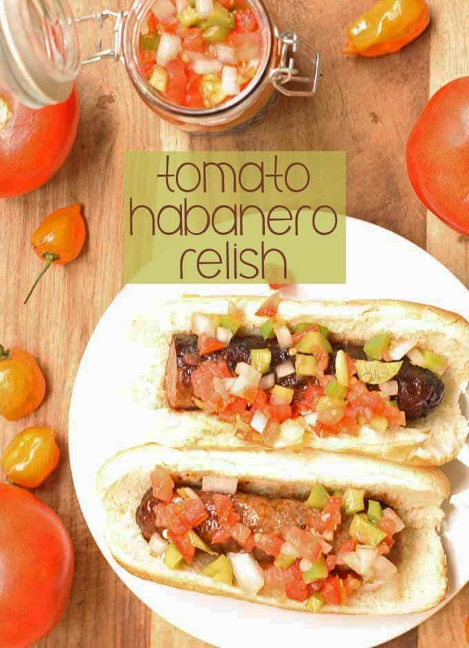 Tomato Habanero Relish | Honey and Birch