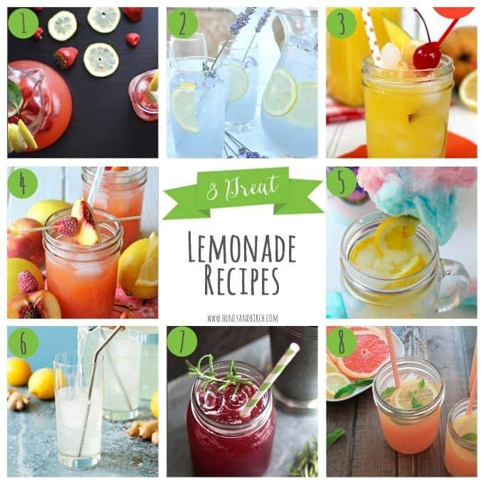 8 Great Lemonade Recipes | Honey and Birch