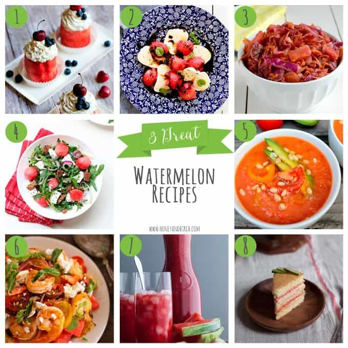 8 Great Watermelon Recipes | Honey and Birch