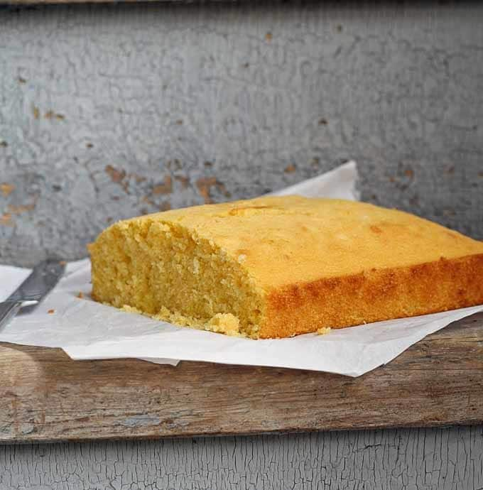 Buttermilk Duck Fat Cornbread | Honey and Birch
