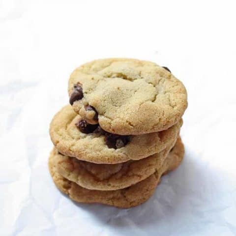 Duck Fat Chocolate Chip Cookies
