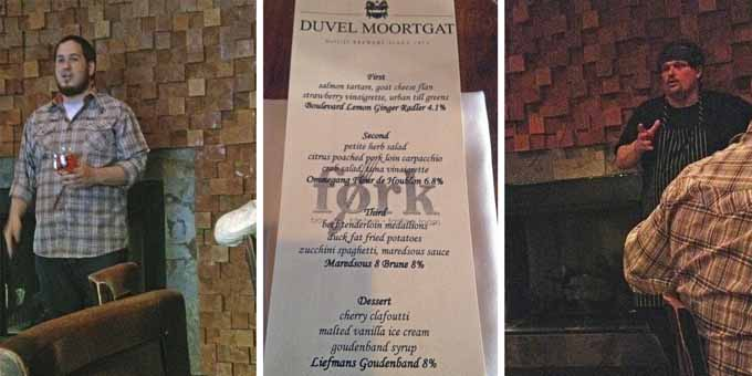 Beer Dinner with Fork and Duvel | Honey and Birch