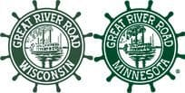 Great River Road logos