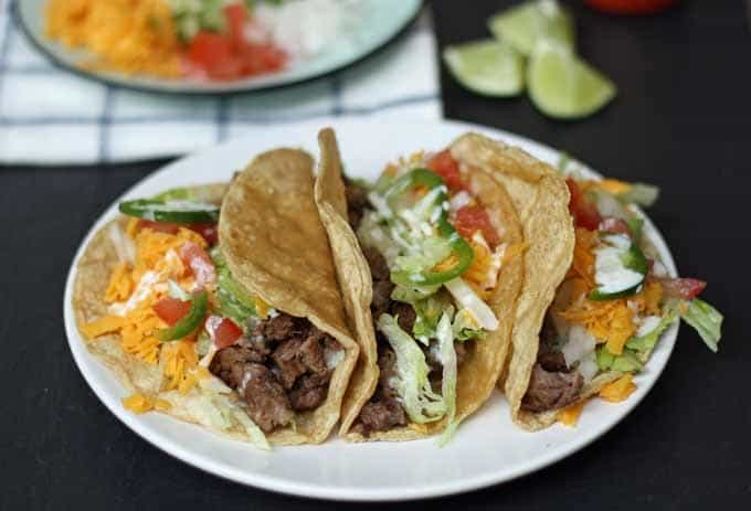 Grilled Arrachera Steak Tacos | Honey and Birch