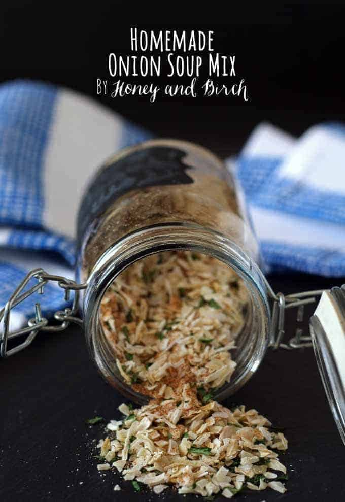 Homemade Onion Soup Mix | Honey and Birch