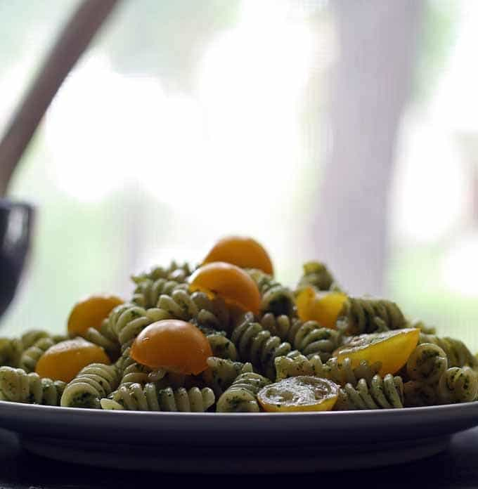 Summer Pesto Pasta | Honey and Birch