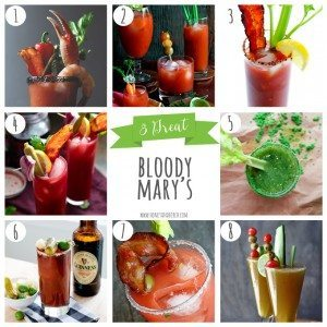 8 Great Bloody Mary's