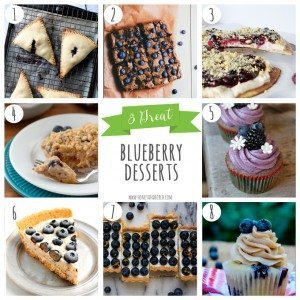 8 Great Blueberry Desserts