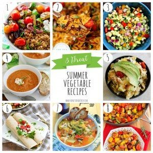 8 Great Summer Vegetable Recipes