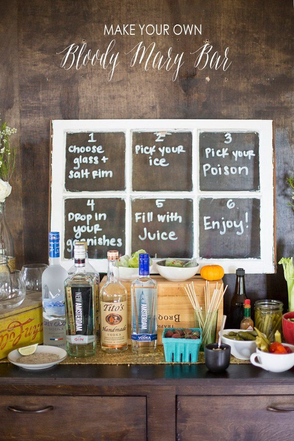 Make Your Own Bloody Mary Bar - Sweetest Occasion