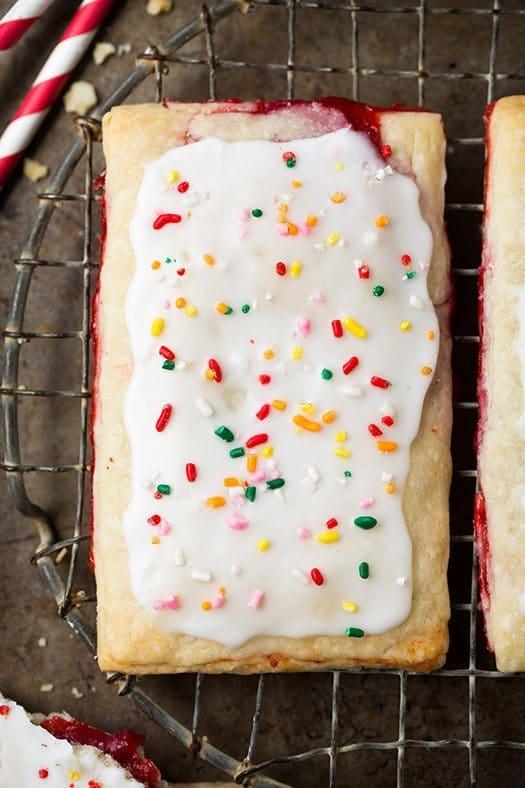 8 Great Homemade Pop Tarts #breakfast | Honey and Birch