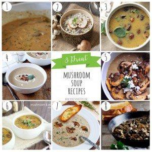8 Great Mushroom Soup Recipes
