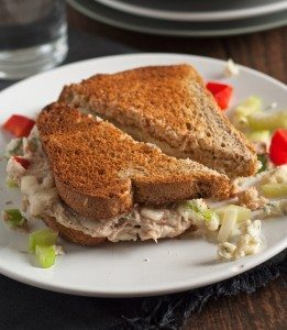 Blue Cheese Tuna Melt