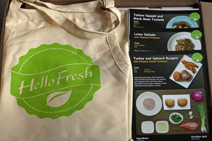 Review: Hello Fresh Meal Box and a #Giveaway | Honey and Birch