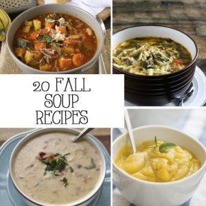 20 Fall Soup Recipes
