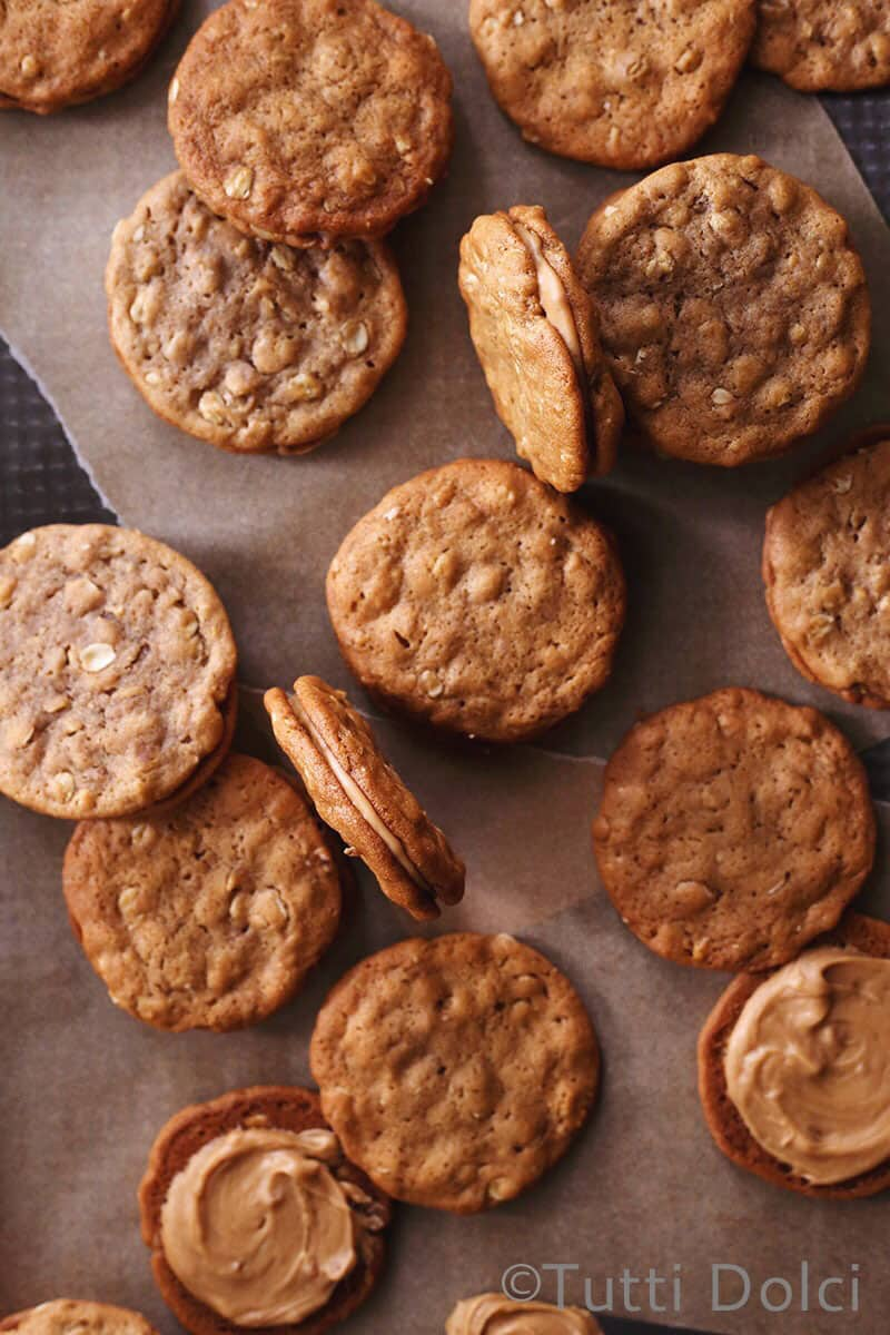 8 Great Cookie Sandwiches #dessert | www.honeyandbirch.com