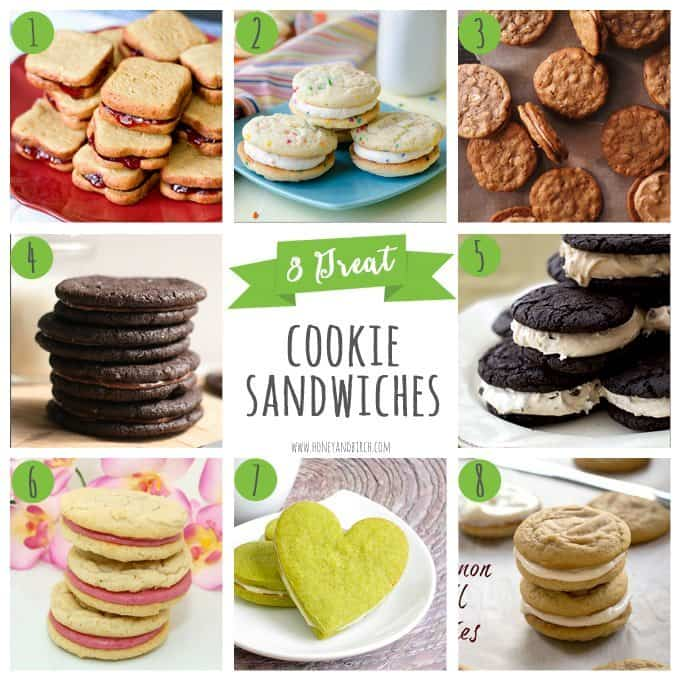 8 Great Cookie Sandwiches