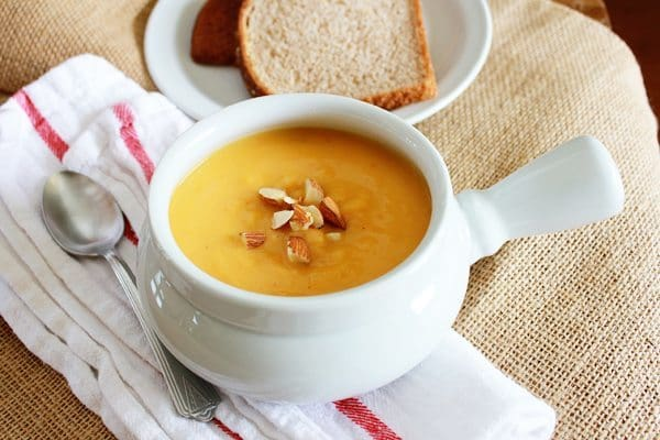 If you're looking for a warm up this autumn, try one of these 20 fall soup recipes! | Honey and Birch