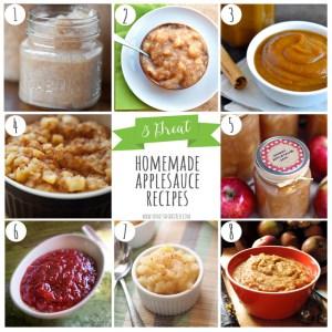 8 Great Homemade Applesauce Recipes