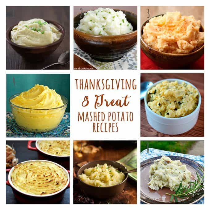 8 Great: Thanksgiving Dinner Edition | 8 Great Mashed Potato Recipes
