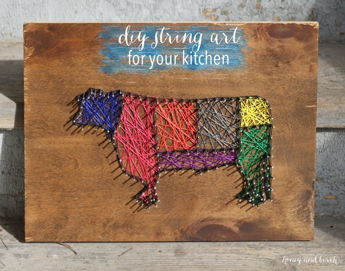 Make string art out of any picture! #DIY #stringart