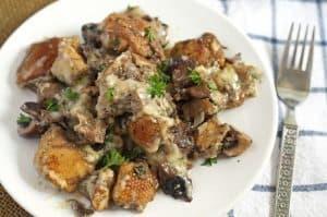 Mixed Mushroom Casserole