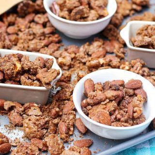 Pumpkin Pie Spiced Nuts