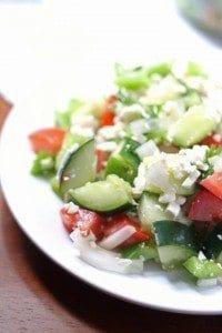 Shopska Salad (Bulgarian Salad)