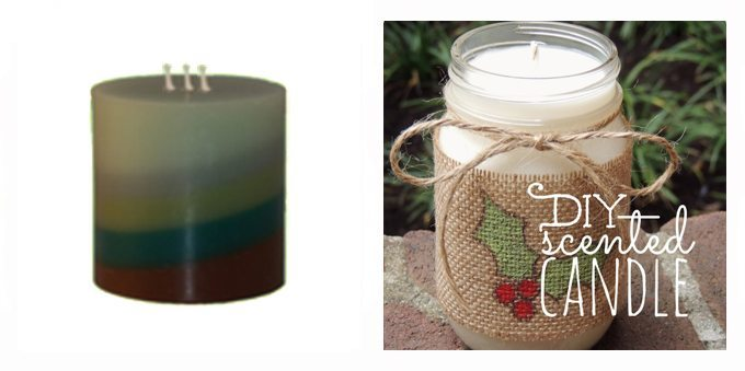 10 Hostess Gifts to Buy or DIY - Candles | [www.honeyandbirch.com] #giftguide