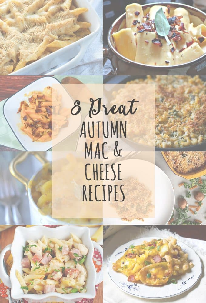 8 Great Autumn Mac and Cheese Recipes | www.honeyandbirch.com