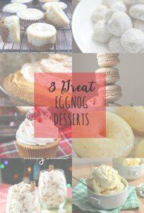 8 Great Eggnog Desserts
