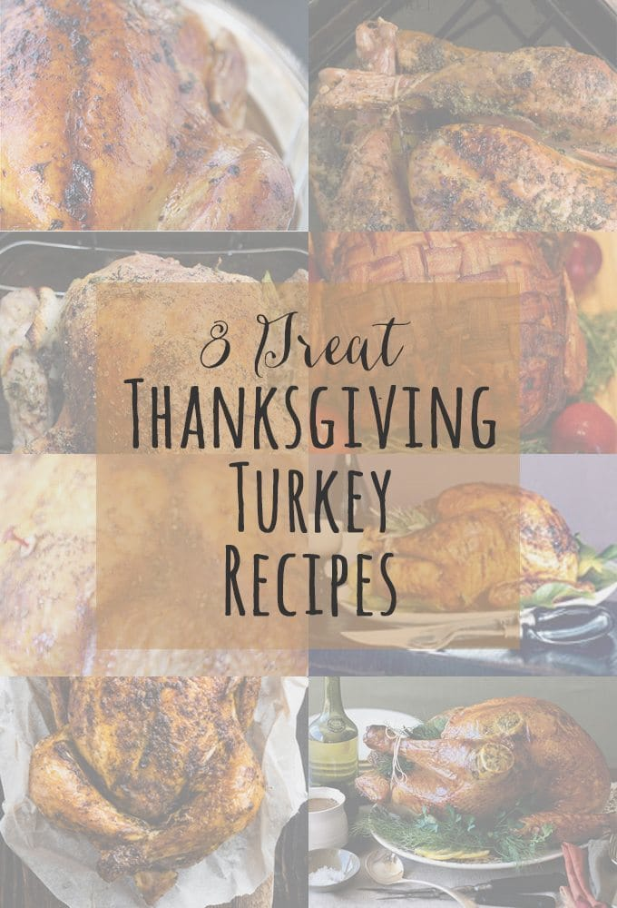 8 Great Thanksgiving Turkey Recipes | Honey and Birch www.honeyandbirch.com
