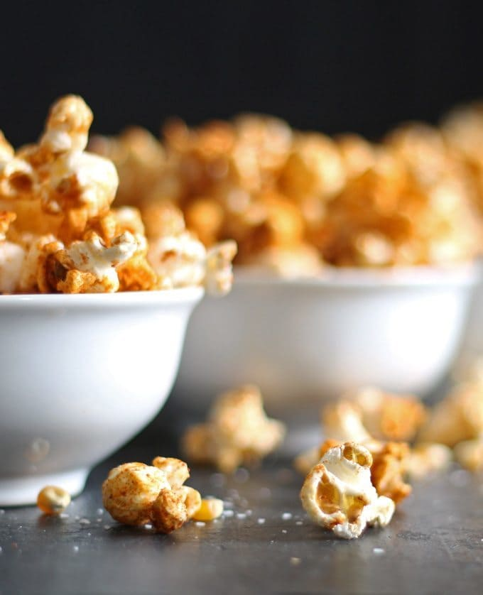 Duck Fat Paprika Popcorn - Honey and Birch