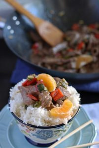 Mandarin Orange Beef Stir Fry