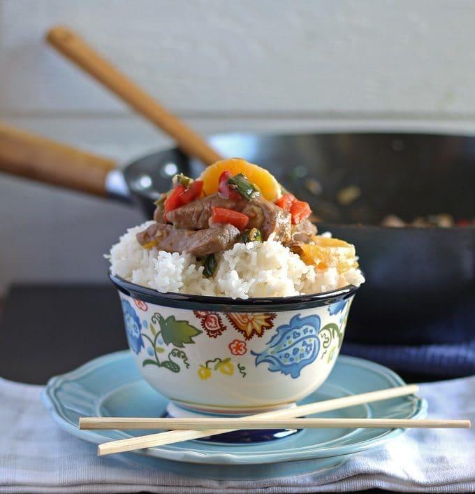 Mandarin Orange Beef Stir Fry | Honey and Birch