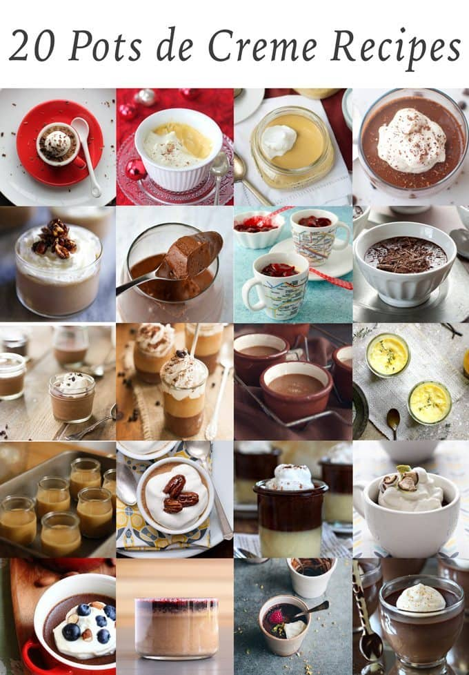 20 Pots de Creme Recipes | Honey and Birch #dessert