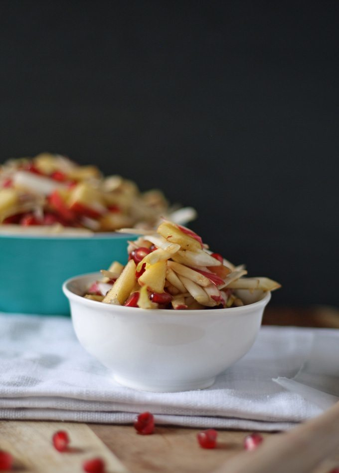 Sweet Endive Salad | www.honeyandbirch.com