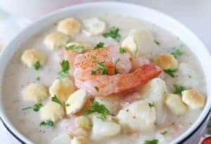 Shrimp Potato Chowder