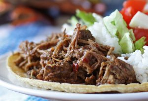 Slow Cooker Coffee Barbacoa Beef