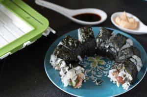 SushiQuik Review and Steak Sushi Recipe