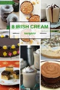 8 Recipes Using Irish Cream #StPatricksDay www.honeyandbirch.com