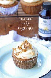 Carrot Cake Cupcakes   www.honeyandbirch.com   #WindyCityBloggers #rodellevanilla #madewithrodelle