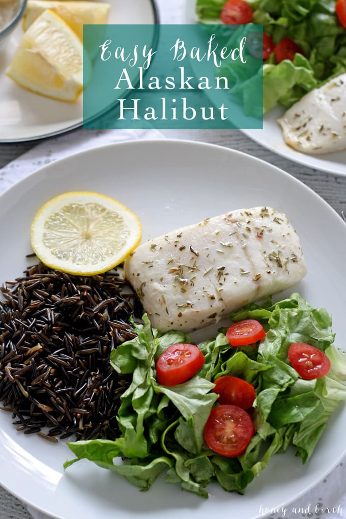 Easy baked alaskan halibut 30 minute dinner for Easy fish recipes for dinner