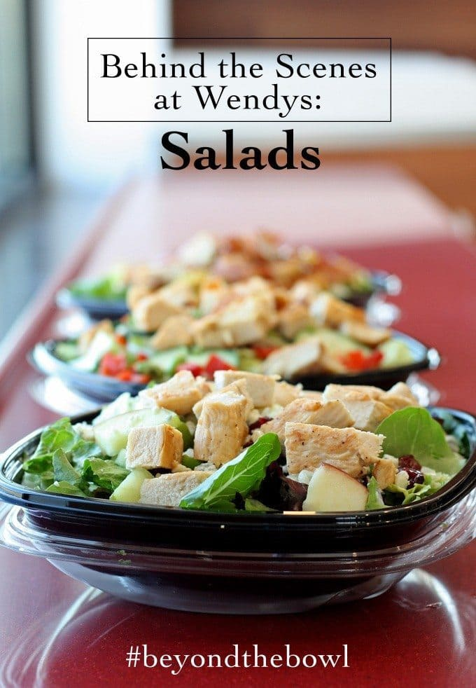 Behind the Scenes at Wendy's: Salads #BeyondTheBowl #CG #sponsored