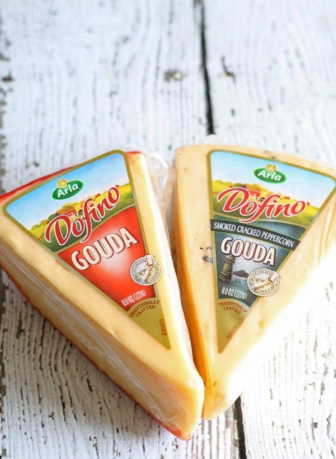 Gouda Jalapeno Roasted Red Pepper Grilled Cheese Sandwich #GooeyGoodness Naturally Delicious Grilled Cheese